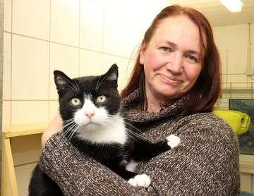 Silke Wingen Vorsitzende des Rotenburger Tierschutzvereins wehrt sich gegen Anschuldigungen  Von Dennis Bartz