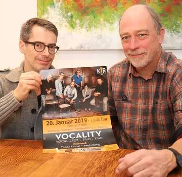 Vocality Jazz spielen mit Todde Finner bei Mercedes Sternpartner  Von Dennis Bartz