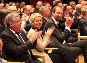Stadt und Wirtschaftsforum laden zum Neujahrsempfang  Von Henning Leeske