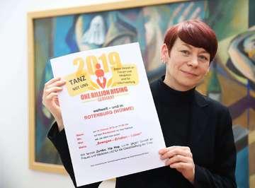 Gleichstellungsbeauftragte lädt zu One Billion Rising ein  Von Dennis Bartz