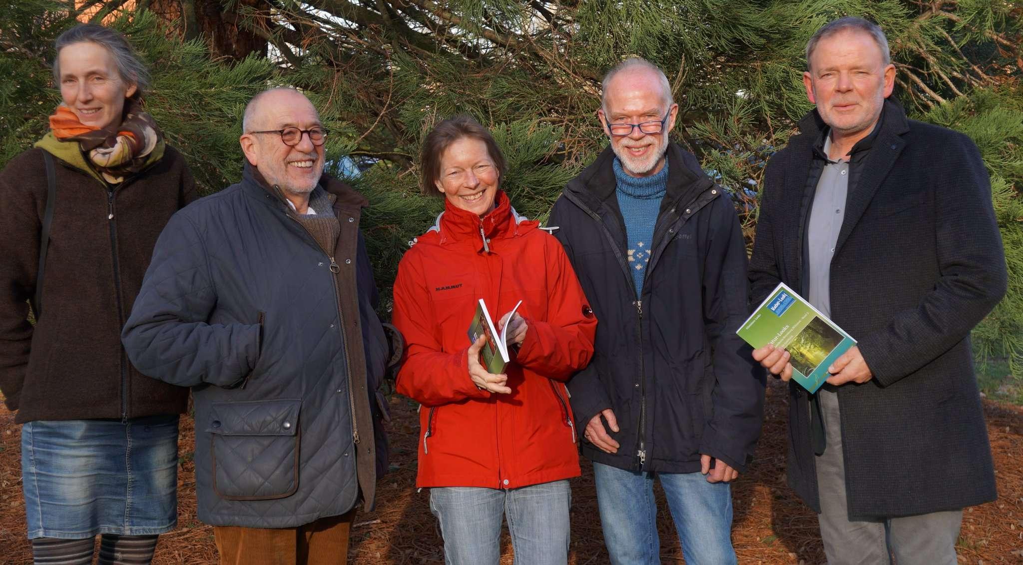 Unter dem Dach der Stiftung Naturschutz des Landkreises ist Band zwei des erfolgreichen
