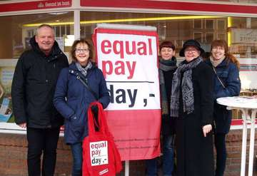 Gleichstellungsbeauftragte informiert über Equal Pay Day