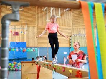 Frühlingsolympiade an der Rotenburger Stadtschule  Von Dennis Bartz