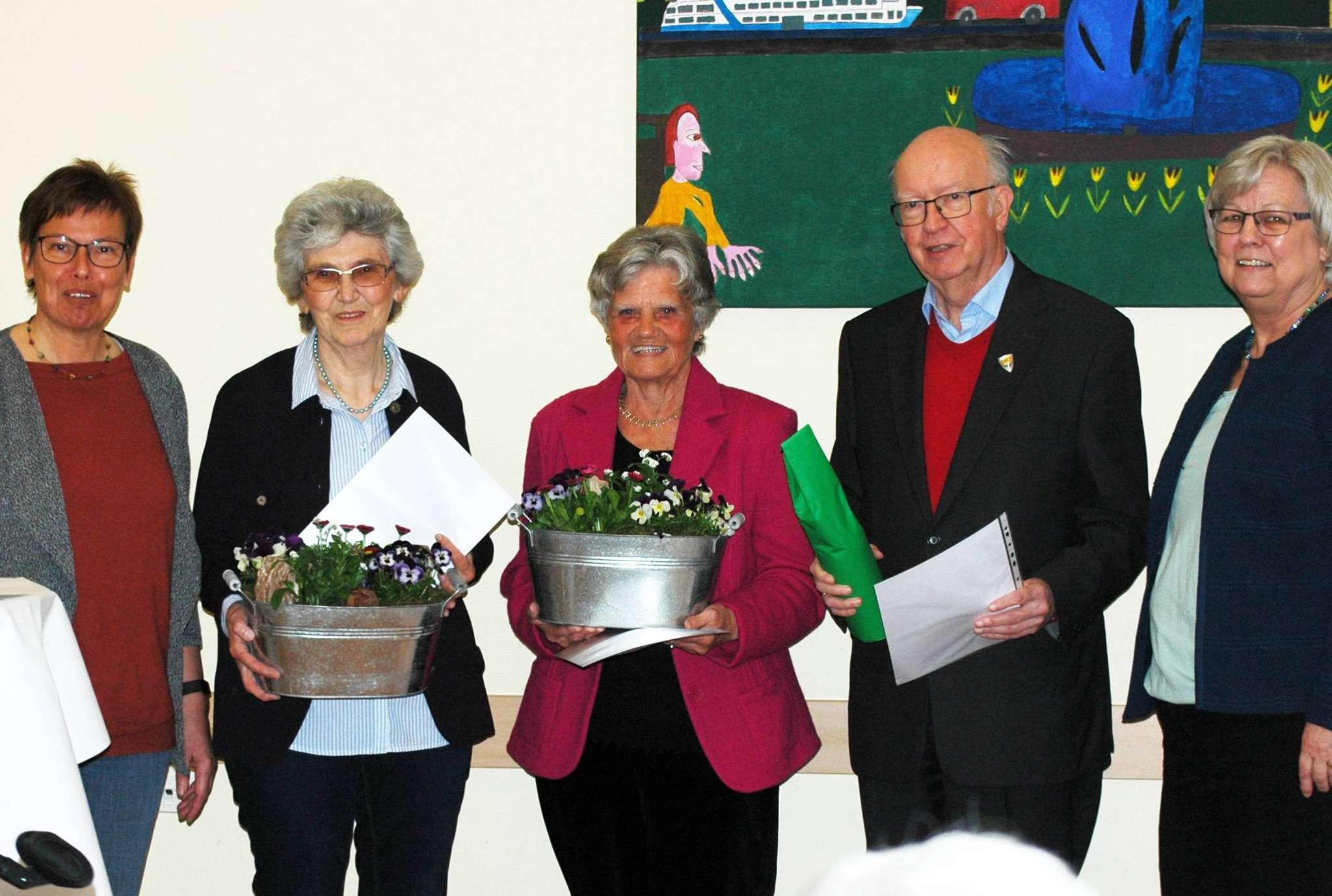 Der Rotenburger Kneipp-Verein ehrte seine Jubilare.