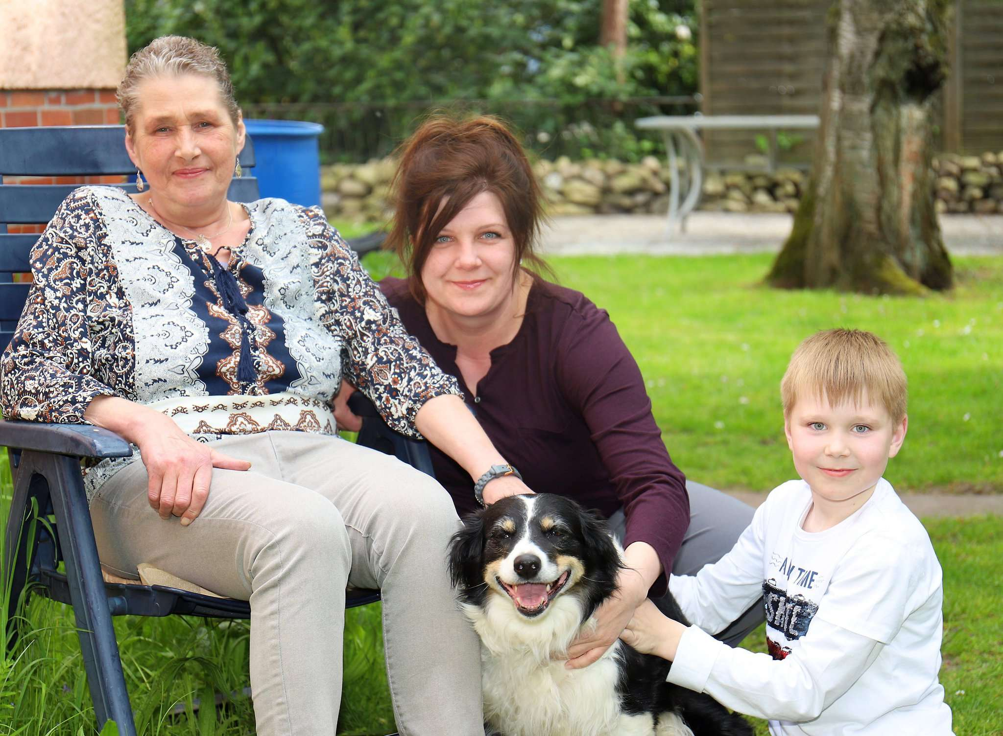 Hündin Amy bleibt zu Hause, wenn Inge Janßen mit Tochter Nicole Simon und Enkel Noah am 5. Juni zum Delfinschwimmen nach Malta fliegen.