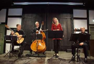 Quartett Luz del Norte spielt im Rotenburger Heimathaus
