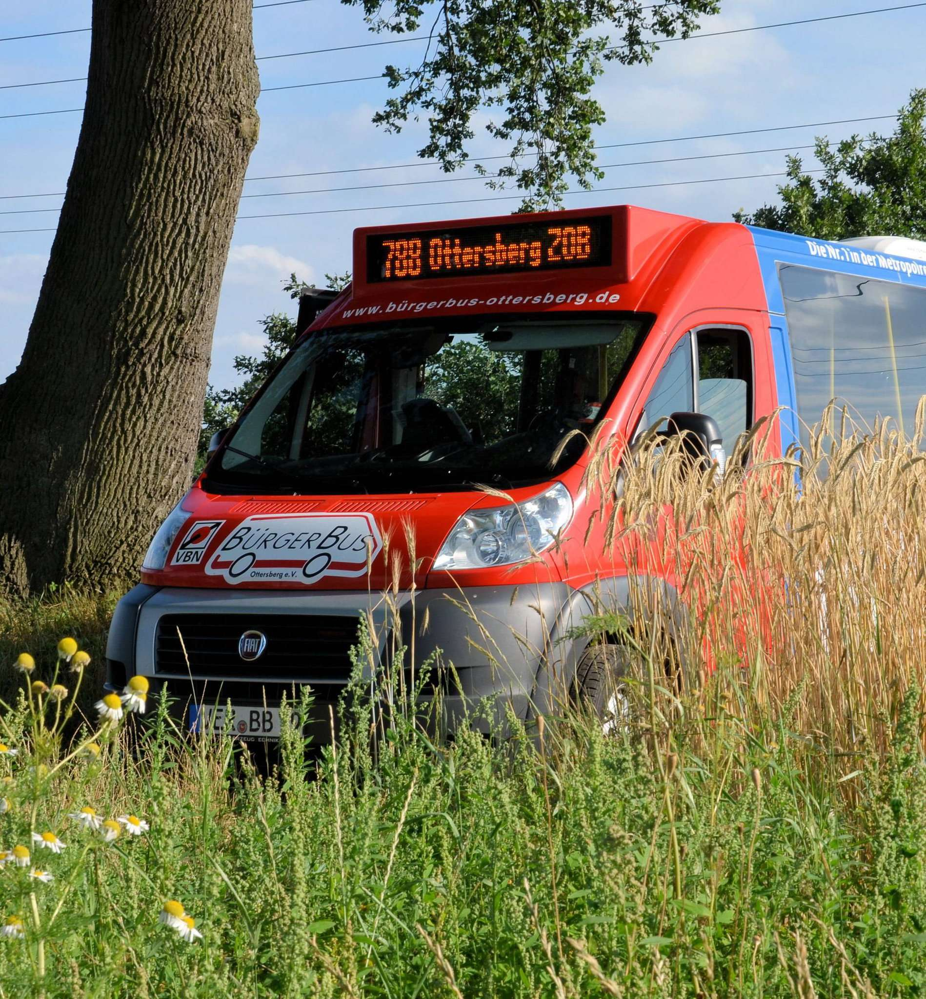 Der Bürgerbusverein in Ottersberg hat seinen Fahrplan angepasst.