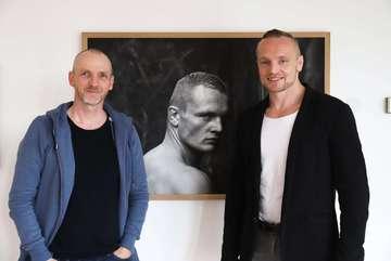 Ausstellung Dima  ein Leben im Leistungssport im Ratssaal  Von Dennis Bartz