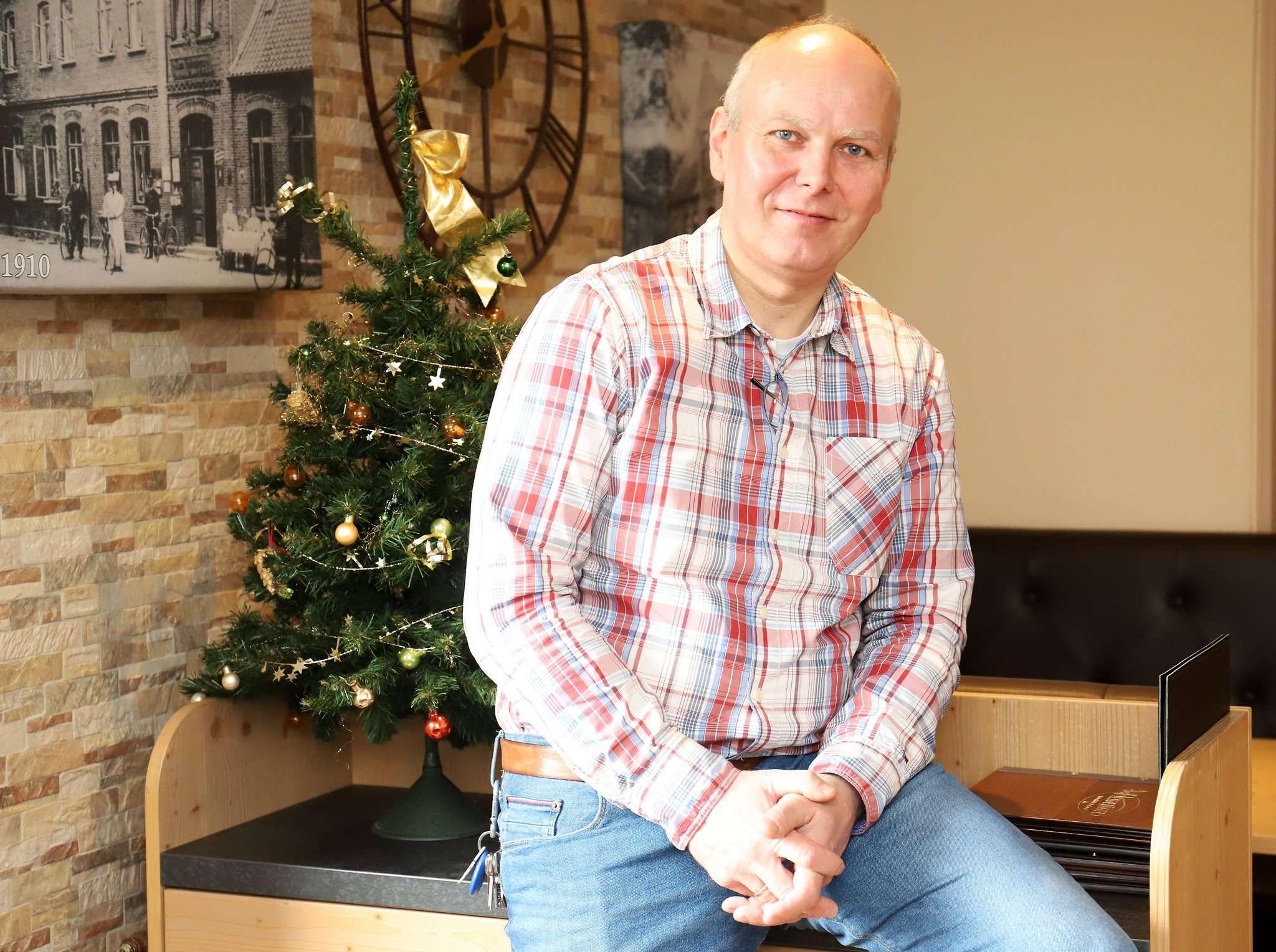 Der Mulmshorner Gastronom Frank Westermann fordert von den Kommunen, zu ihrem Tierheim zu stehen.