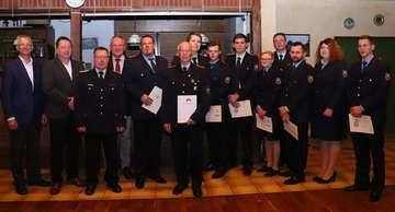 Mitgliederversammlung der Feuerwehr Borchel