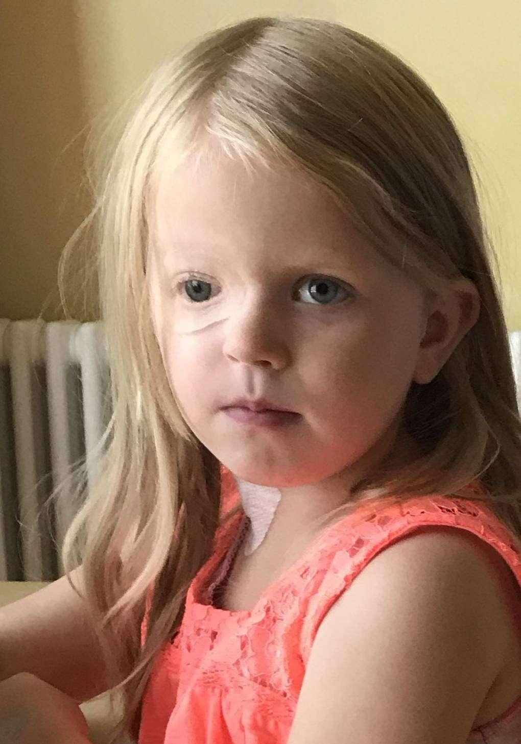 Die sechsjährige Mila