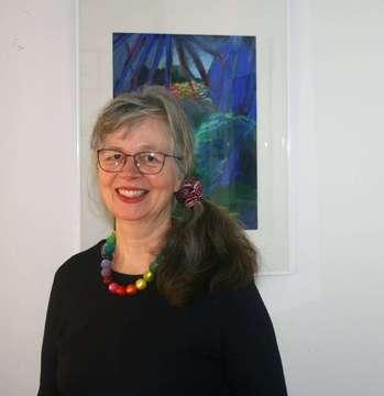 Katrin Marienhagen stellt ihre Werke im Caf� Marleen aus  Von Praktikantin Lara Wachtmann