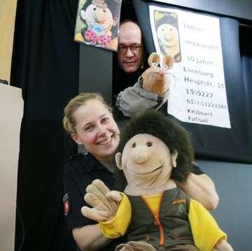 Puppenbühnenstück der Polizeidirektion Lüneburg