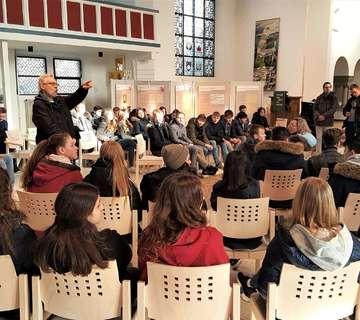 Ratsgymnasiasten besuchen Rotenburger Werke
