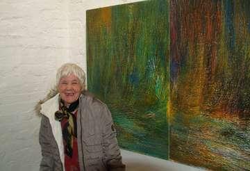 Meta Schillmann stellt ihre Werke im Kunstturm aus