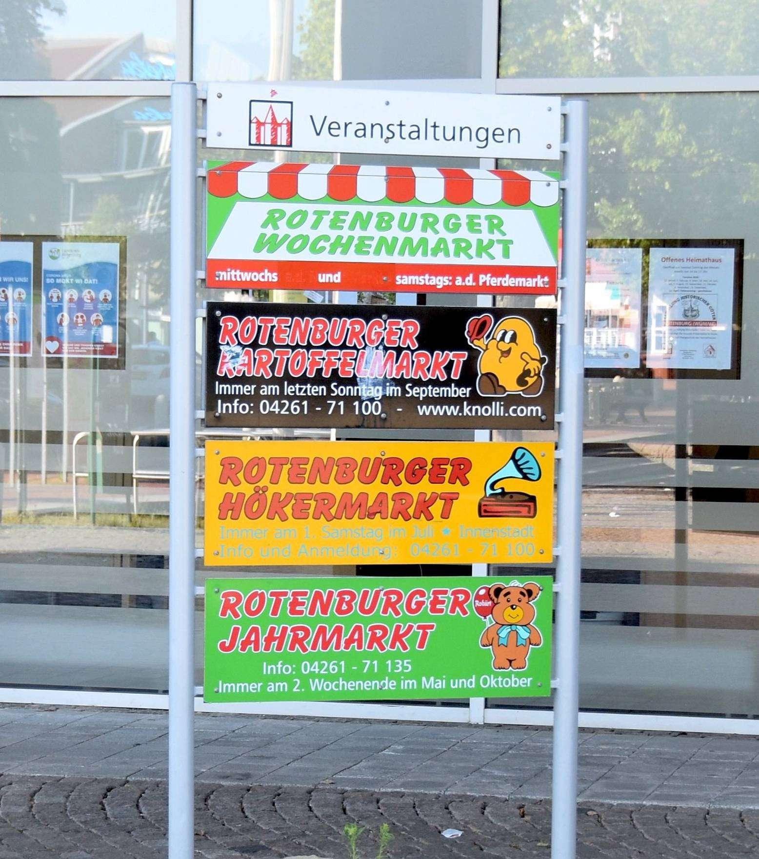 Wann es in Rotenburg wieder Großveranstaltungen geben wird, ist fraglich.