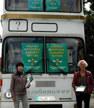 Die Volksinitiative Artenvielfalt sammelt Unterschriften