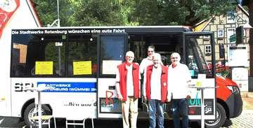 Bürgerbus Rotenburg vorerst noch zum Abwarten gezwungen