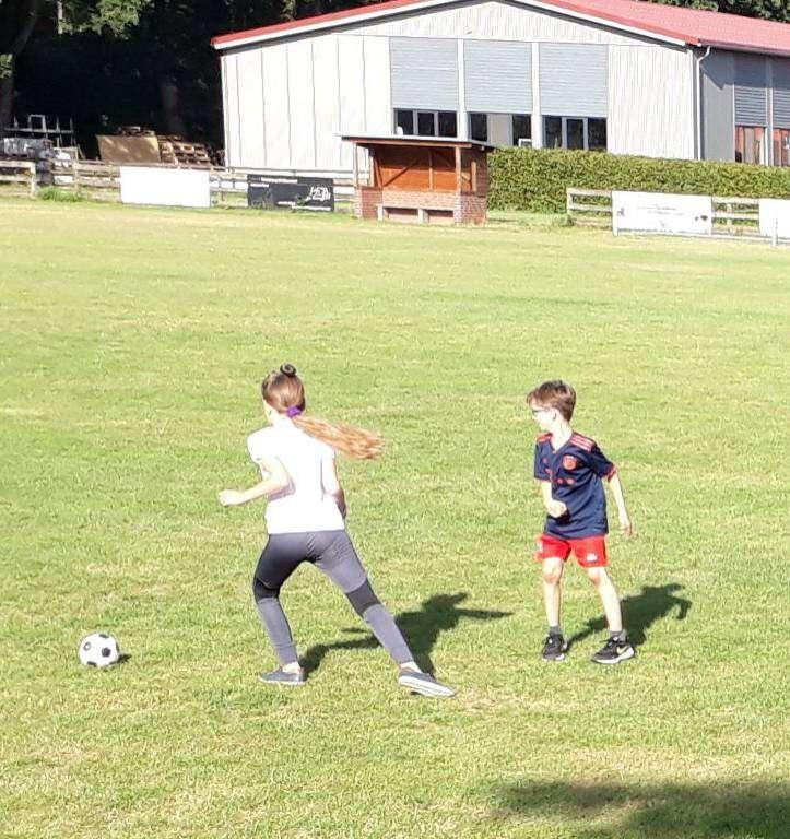 Die Kinder hatten viel Spaß bei der Sportwoche, die der TuS Kirchwalsede organisiert hatte.