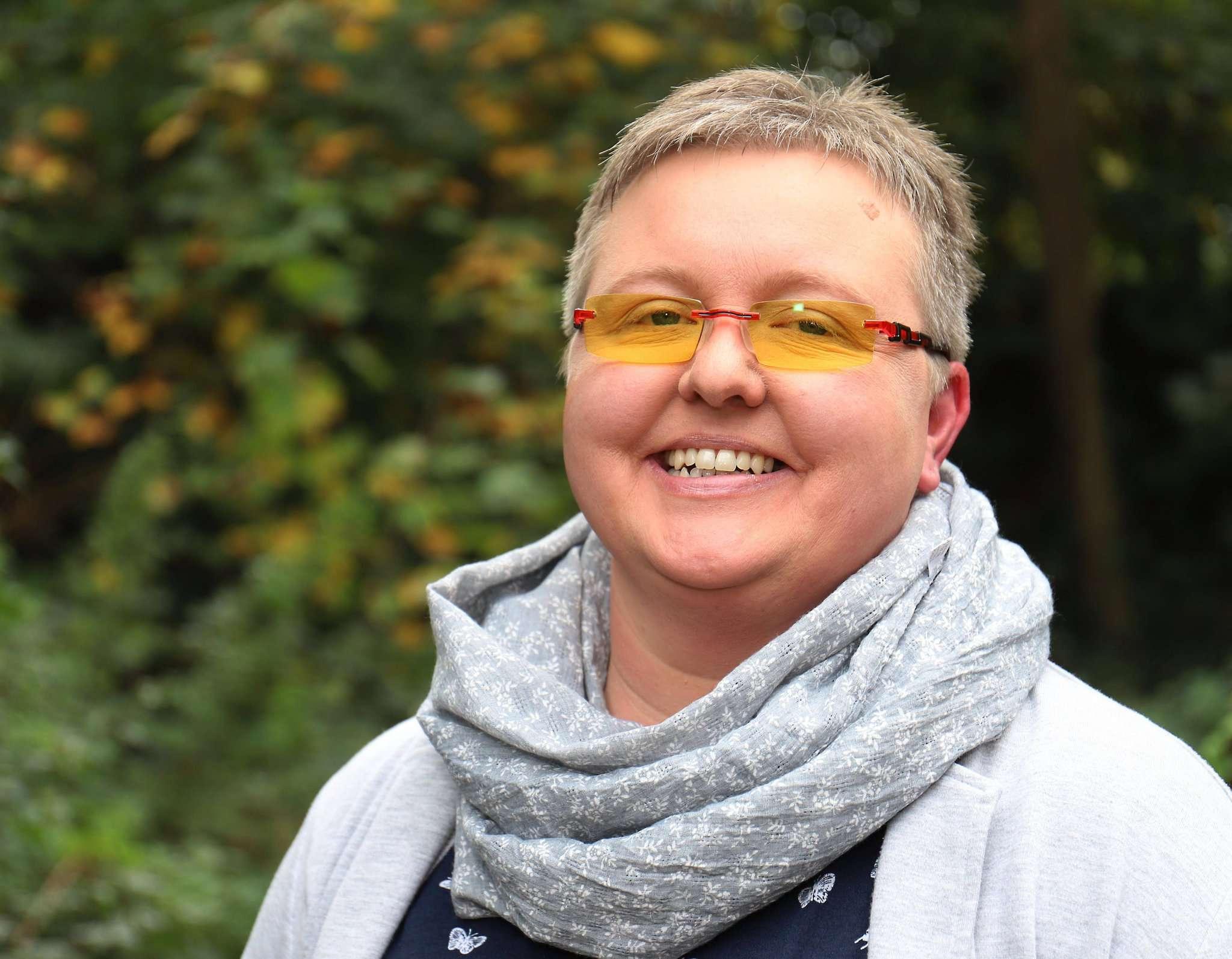 Katja Schäfer leitete bereits zwei Selbsthilfegruppen in ihrer alten Heimat Ostfriesland, nun wohnt sie in Rotenburg und möchte eine neue Gruppe gründen.