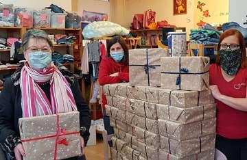 Kaufleute der Innenstadt spenden an das Simbav