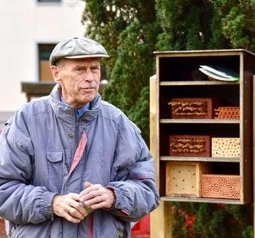 Manfred Radtke Postoberamtsrat Ratsherr BUNDVorstand und Wildbienenretter  Von Judith Tausendfreund