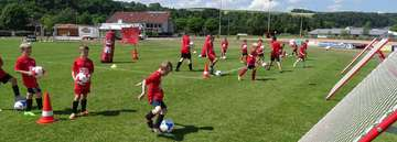 Fußballcamp der JSG Unterstedt im Sommer