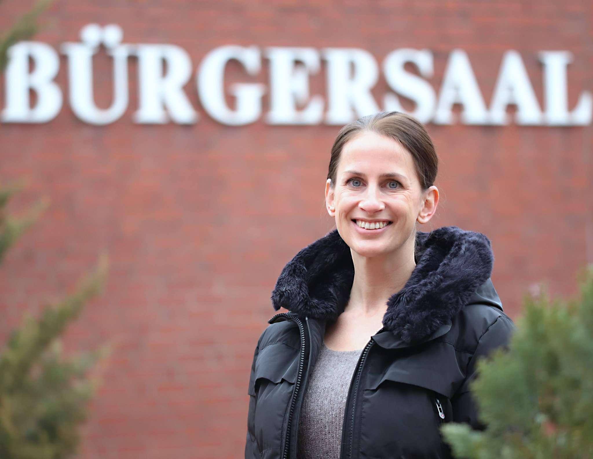Simbav-Leiterin Ina Helwig freut sich auf den Umzug in den Rotenburger Bürgersaal.