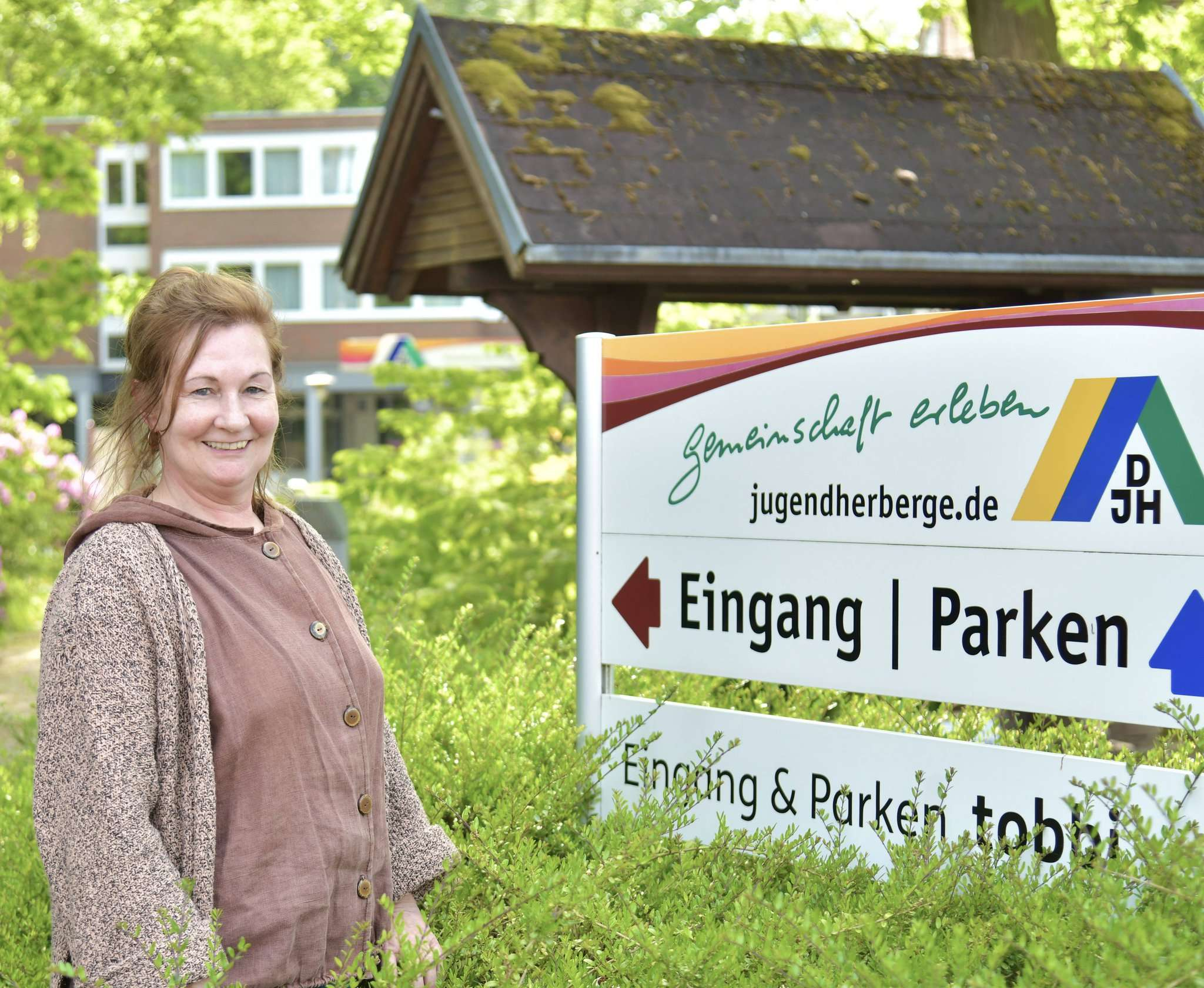 Rita Toll leitet die Jugendherberge in Rotenburg.