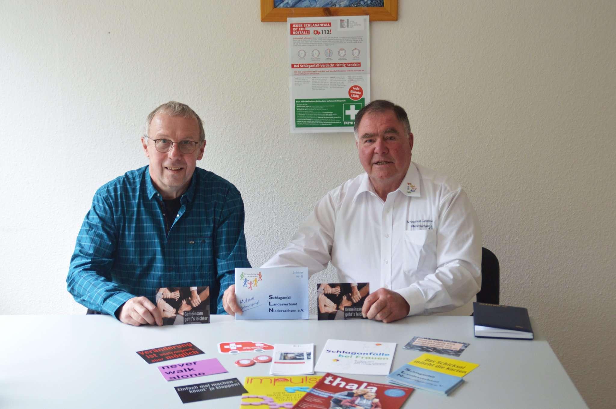 Heiner Gehlken (links) und Joachim Krohn gründen eine neue Selbsthilfegruppe.