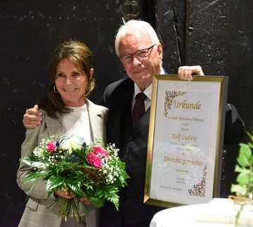 Rolf Ludwig ist Ehrenbürger der Stadt Rotenburg  Von Andreas Schultz