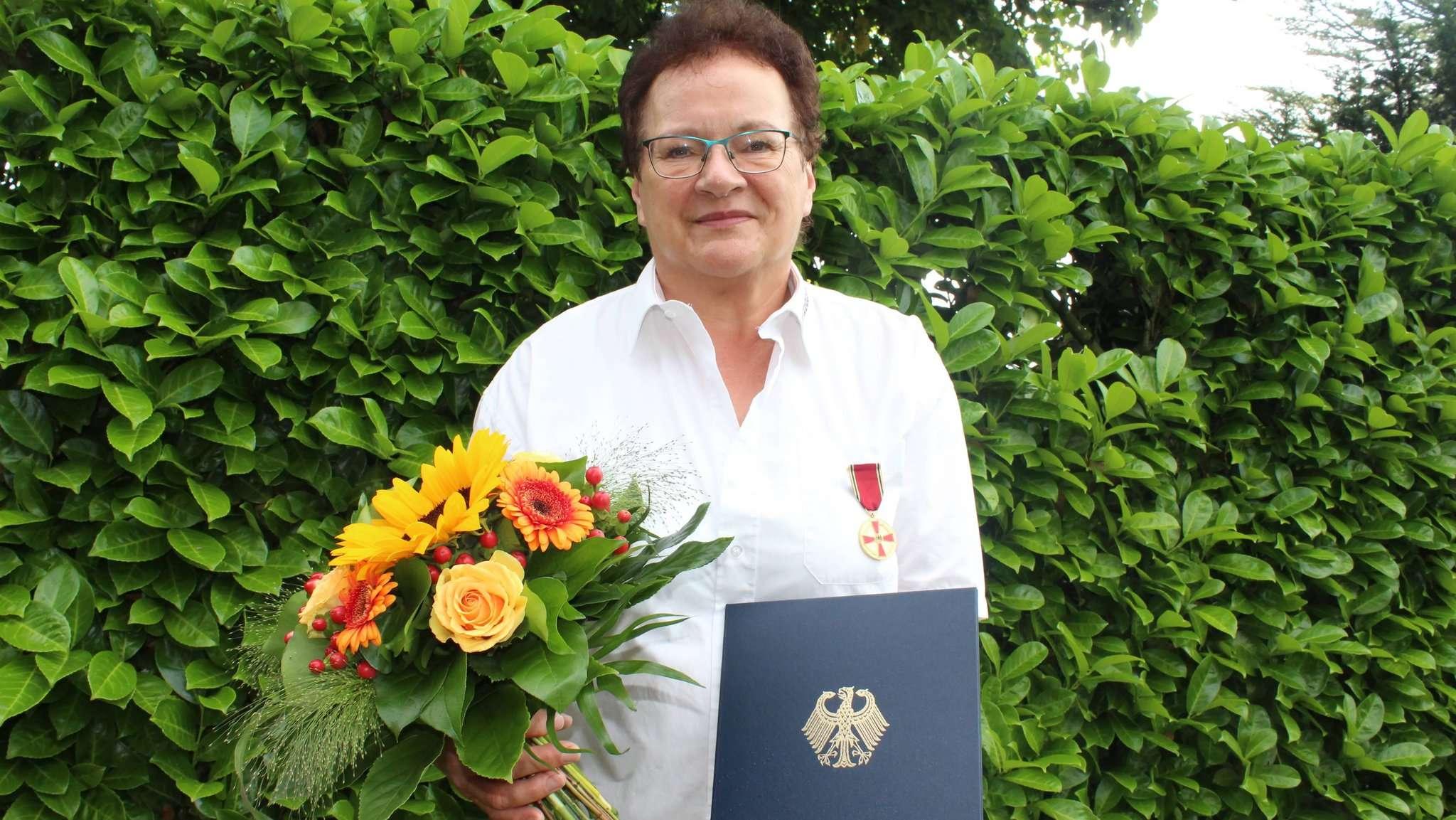 Für ihr jahrelanges Engagement im Breiten- und Freizeitsport erhält Uta Bruns das Bundesverdienstkreuz. Foto: Ann-Christin Beims