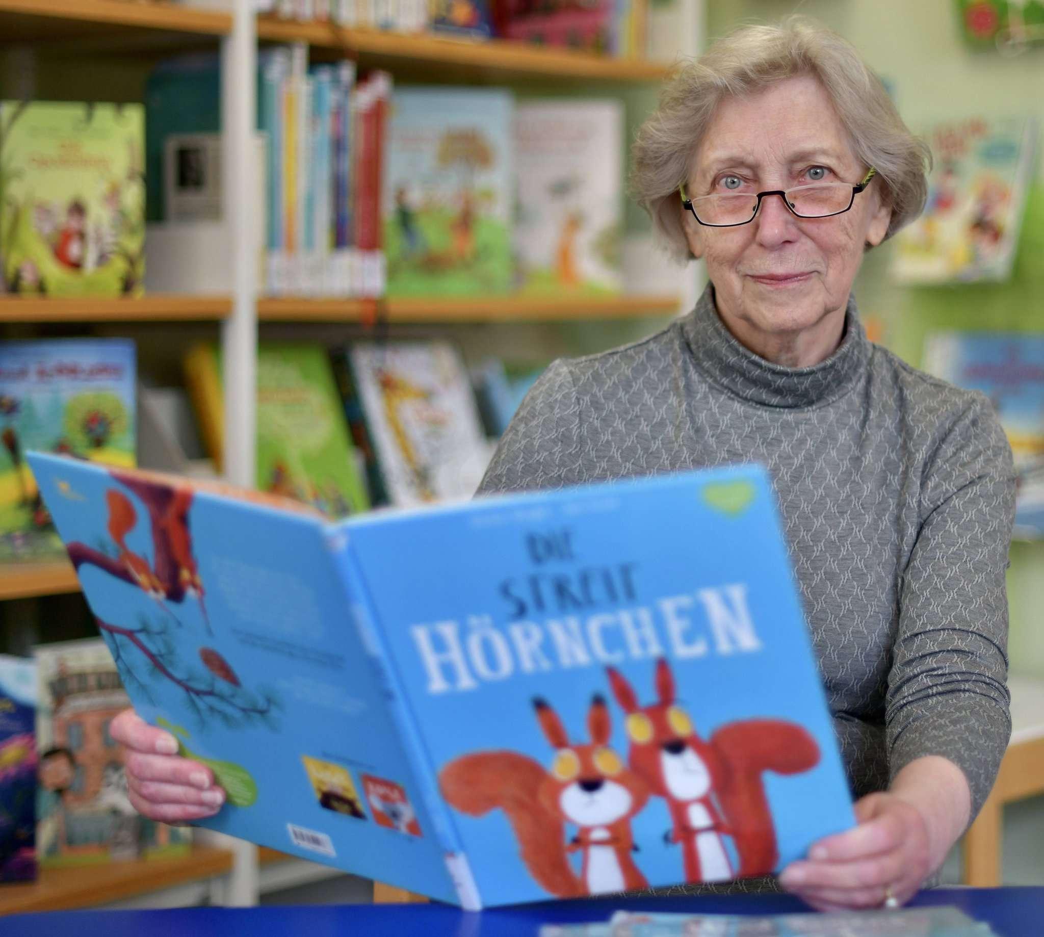 Die Leseoma Karin Wahl geht in den Ruhestand.