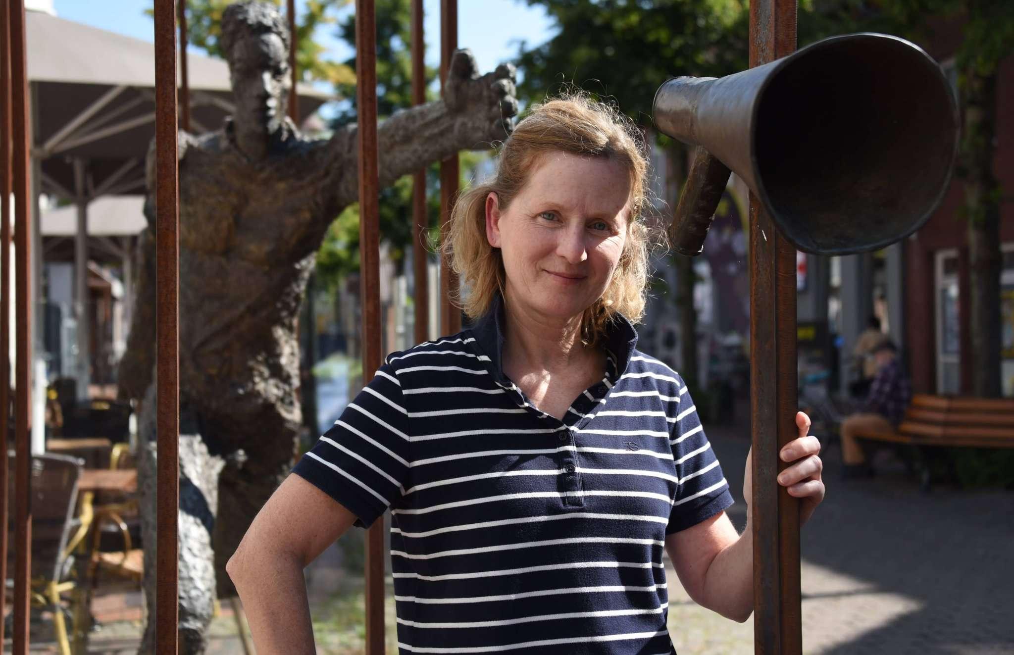 Helga Fiebach, Übungsleiterin Kneipp-Verein Rotenburg, kennt sich aus mit Prävention im Gesundheitssport. Sie leitet den Kurs