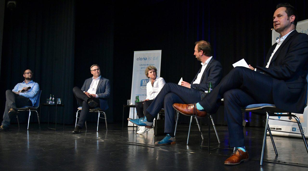 Die Rotenburger Kreiszeitung sowie das Rotenburger Wirtschaftsforum haben auch den beiden Bürgermeisterkandidaten in der Kreisstadt, Frank Holle (CDU, l.) und Torsten Oestmann (parteilos), auf den Zahn gefühlt.