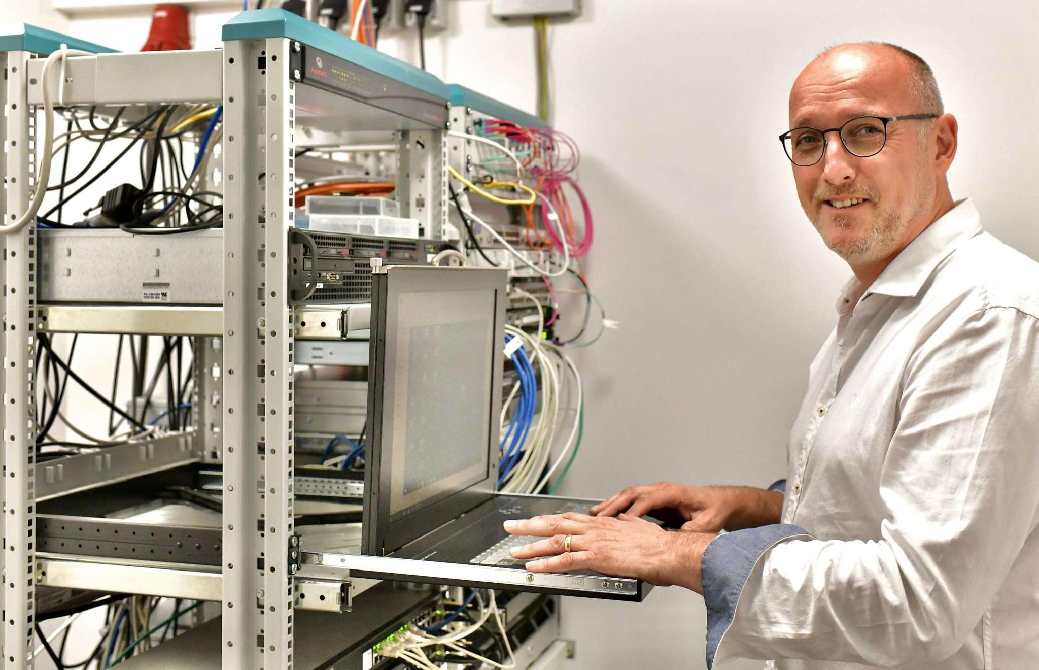 Ingo Reimann freut sich über seinen neuen Job.  Foto: Menker