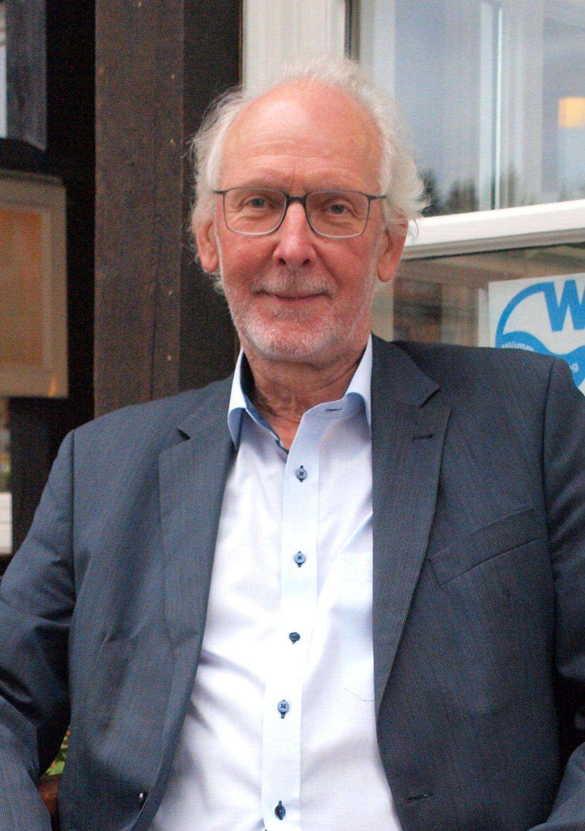 Schluss mit Arbeit: Hans-Joachim Boschen verabschiedet sich in den wohlverdienten Ruhestand.