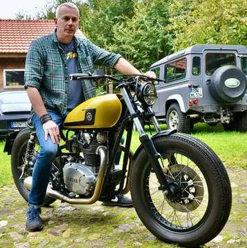Heiko Lossau baut alte Yamaha XS 650 um und nimmt an Wettbewerb teil  VON GUIDO MENKER