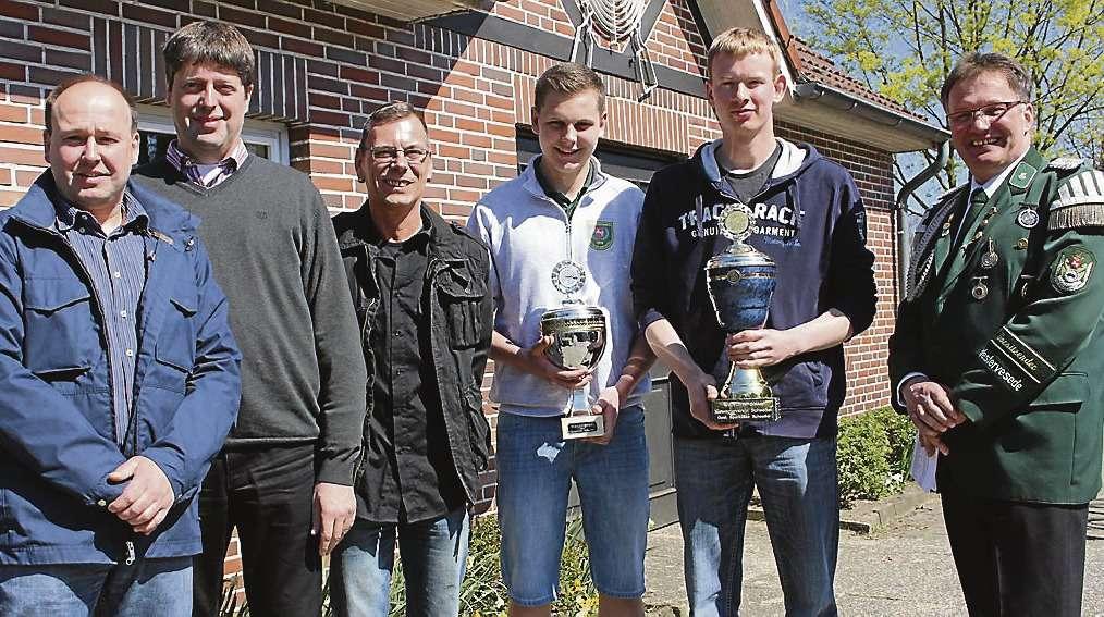 Die Gewinner des Gemeinde- und Gewerbepokalschießens