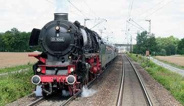 Dampflok fährt am Sonntag 10 Juli von Bremen nach Hamburg
