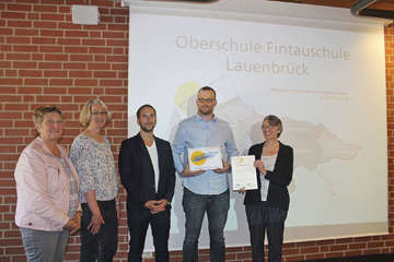 Fintauschule Lauenbrück erhält Auszeichnung