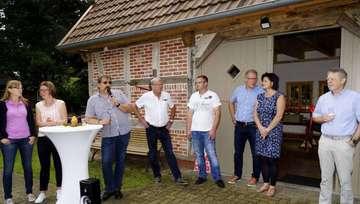 Einweihung des neuen Dorfgemeinschaftshauses
