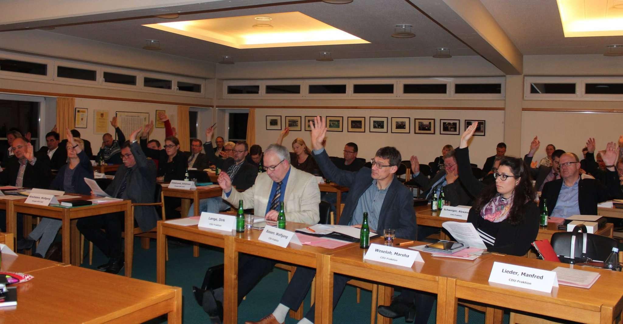 Mit einer Enthaltung stimmte der Rat der Gemeinde Scheeßel einstimmig dafür, die Stellungnahmen der Ortsräte an den Landkreis weiterzuleiten. Foto: Ann-Christin Beims
