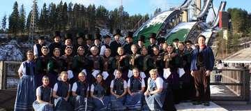 Beekscheepers beim finnischen FolkloreFestival
