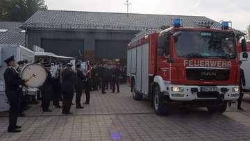 Einweihung des neuen Feuerwehrhauses in Lauenbrück