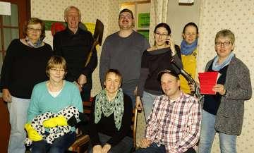 Theatergruppe Stemmen probt für Premiere