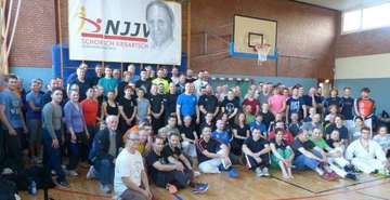 118 aktive JuJutsuka beim Landeslehrgang in Scheeßel