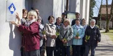 Scheeßeler St LucasKirche erhält Signet als verlässlich geöffnete Kirche