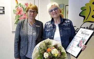 Ausstellung von Ulrike BonnkeFürst im Scheeßeler Rathaus