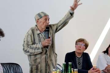 Alexander Bychok ist einer der letzten KZ-Überlebenden - Von Ann-Christin Beims